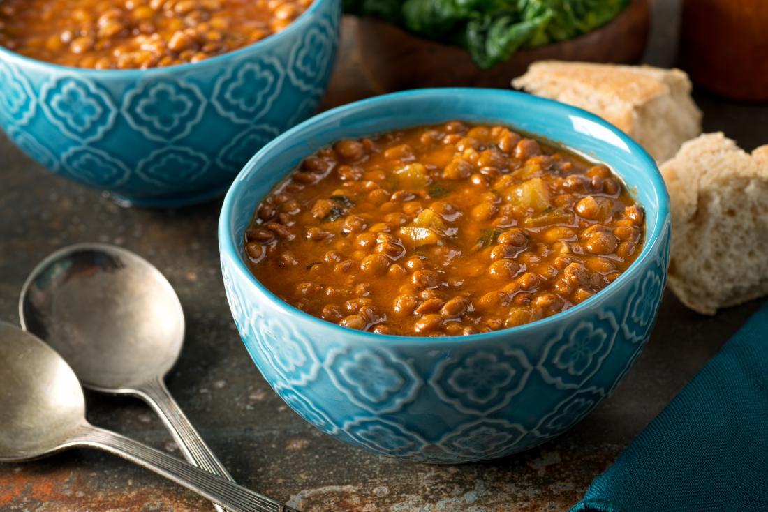 Energy boosting foods lentils