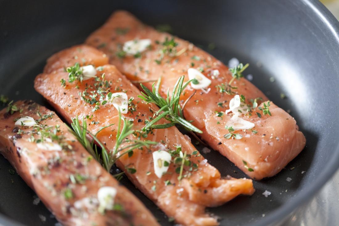 Энергетические продукты лосося